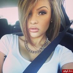 I think I want this hairstyle! I'm not sure, i have very thin hair. #thinhairproblems