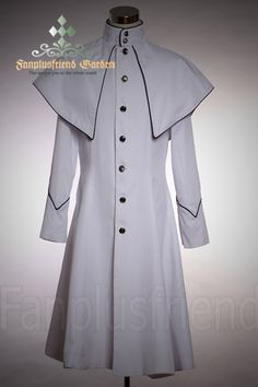 Elegant Gothic Aristocrat Stand Collar Long Jacket  -Grooms Jacket