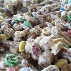 Reindeer Munch- I made it for Christmas and it was crack. Meant to be for the kids and Tony & I inhaled it. Very, very addicting!