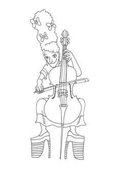 cello cellocolouring