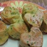 Muffin salati con wurstel