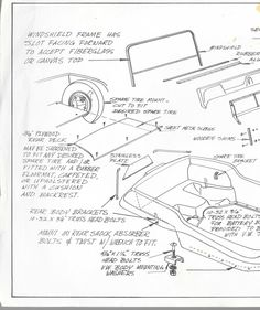 Manx Assembly Drawing Spare Well