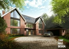 Tony Holt Design : Self build for new build house in Ascot