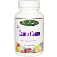 Paradise Herbs, Camu Camu, 60 Veggie Caps, Diet Suplements 蛇 Proper Nutrition, Nutrition Guide, Nutrition Plans, Fitness Nutrition, Vegetarian Facts, Cardio Diet, Skinny Diet, Natural Vitamin C, Shake Diet