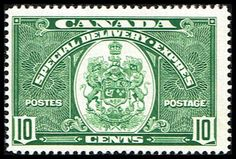 Canada E7 Stamp Arms of Canada Stamp NA C E7-1, $6.75 at Blue Moon Philatelic Stamp Store (http://www.bmastamps2.com/stamps/north-america/canada/canada-e7-stamp-arms-of-canada-stamp-na-c-e7-1/)