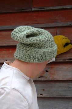 Men's Crochet Winter Hat Pattern - Fall Into Winter Peak Hat by HiddenMeadowCrochet on Etsy.com - bulky yarn