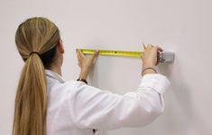 Measure-moon-1-blog-crop Interior Paint Colors, Behr, Wall Murals, Diy Home Decor, Gray Color, Moon, Indoor, Painting, Wallpaper Murals
