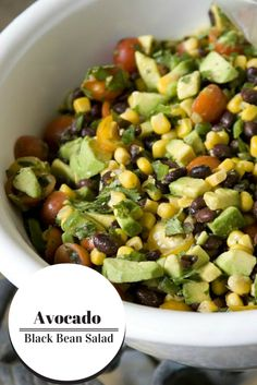 Avocado Black Bean S