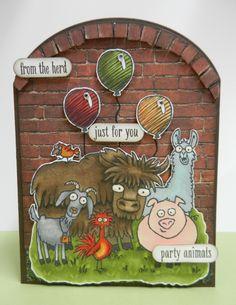 From the Herd, Adventure Bound DSP Stampin'Up! door Stamp-ing Rilland. www.stamp-ing.blogspot.nl