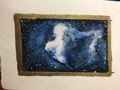 Watercolor Night Sky, Deep Space, Night Skies, Galaxies, Painting, Art, Outer Space, Art Background, Painting Art