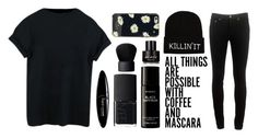 """""""Lazy Saturday"""" by daisy-fletcher-cooney ❤ liked on Polyvore featuring Maybelline, NARS Cosmetics, Byredo, Kenneth Cole, Kate Spade and rag & bone"""