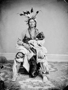 Jumping Thunder - (Yankton Sioux)- 1867