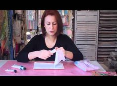 how to create a background for an art journal with gesso and paints
