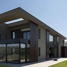 Casas de estilo moderno por GIAN MARCO CANNAVICCI ARCHITETTO
