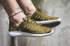 """The Nike Juvenate Woven Returns In """"Olive Flak"""""""