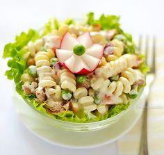 Cold Pasta Tuna Salad Recipe - RecipeChart.com