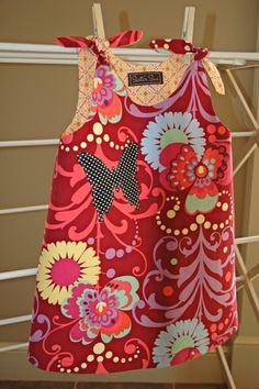 The Ivy Reversible Dress in LOVE by Sister Sue Designs. If I ever have a baby girl this will be the first thing I buy.