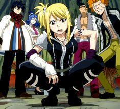 Not quite Lucy Heartfilia, but close enough to go in the board. (This board is for cosplay purposes after all and I really like Lucy Ashley's outfit, especially the manga's version lol)