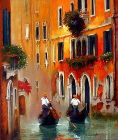 ''Palette de Venise'' Georges Corominas
