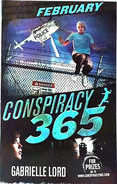 February by Gabrielle Lord Conspiracy 365 children's book series used paperback