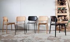 Soft Edge Steel Chair Stol   Olsson & Gerthel