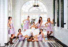 Charleston SC, Bridal Party wedding photo
