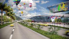 Rio De Janeiro Undergoes An Olympic Makeover
