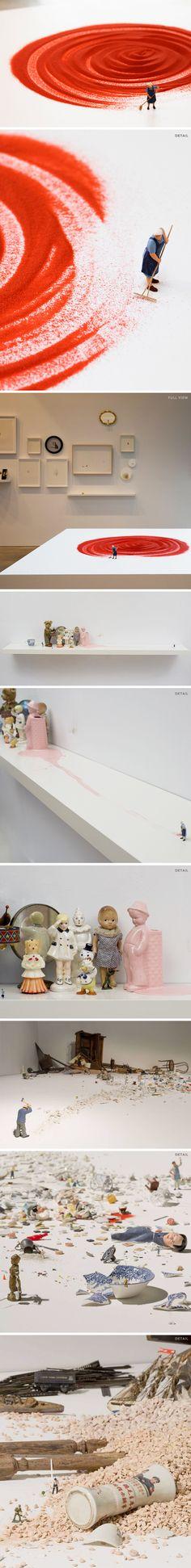 installations by liliana porter