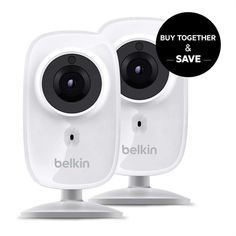 NetCam HD+ Wi-Fi Camera with Glass Lens and Night Vision 2-Pack **Certified Refurbished
