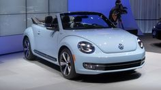 The 2013 Volkswagen Beetle Convertible has debuted at the LA Auto Show.