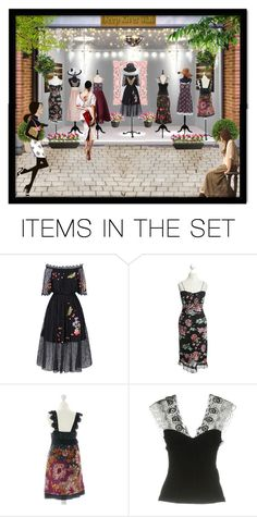 """""""Lace and Flowers"""" by julissag ❤ liked on Polyvore featuring art"""