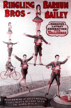 The Wallendas were scouted by Ringling Barnum agent Pat Valdo who booked them on the Greatest Show on Earth for the 1928 season. They remained as a feature of the big show for many years, and returned to Ringling Barnum in the 1940s