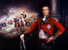 Lt General Lord Wellington at Salamanca, 22nd July 1812 by Chris Collingwood