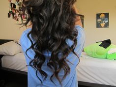 Wish I could do my hair like this everyday
