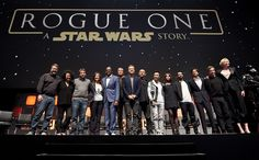 Rogue One cast...°°