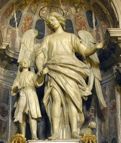 Tobias and the Archangel Raphael Venice, Dorsoduro, Church of San Raffaele