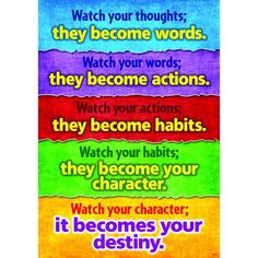 Motivate kids of all ages to succeed with positive messages that promote character development, conflict resolution, diversity, and achievement. Perfect in classrooms, homes...anywhere! Durable and re