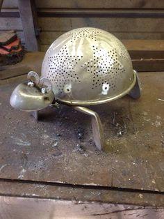 Upcycled tortoise: