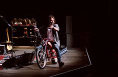 Chris rode this bike onstage to a standing ovation at UVIC show October 22,2013  It was awesome!