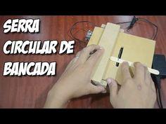 Como fazer uma mini serra circular de bancada! - YouTube