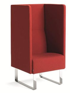 With its high back, Monolite naturally screens off the outside world to quickly create a microcosmic meeting place. Made to measure, depending on individual requirements. High Back Chairs, Meeting Place, Soft Seating, Sound Proofing, Tub Chair, Accent Chairs, Contemporary, Fabric, Furniture