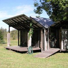 Glenn Murcutt's guest studio in Kempsey Australian Architecture, Architecture Design, Small Barns, Small Houses, Critical Regionalism, Shipping Container Buildings, Gazebo, Pergola, Un Studio