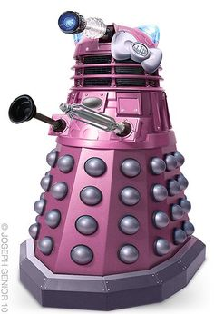 Yes this should have gone under Doctor Who but it's a purple Dalek.