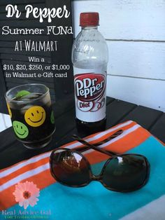 Diet Dr Pepper and Walmart: Teaming up to share in the Summer FUNd. Play for a chance to win Walmart eGift Card ‪#‎SummerFUNd‬ ‪#‎ad‬