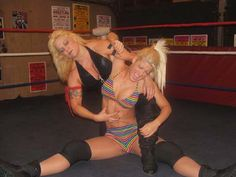Lady Victoria vs Angel Williams before she became TNA Knockout Angelina Love