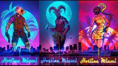 Bildresultat för hotline miami art