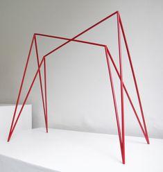 TR1 les tréteaux par Amaury Poudray Retail Fixtures, Table Furniture, Interior Design, Design Design, Product Design, Frame, Alternative, Wire, Inspiration