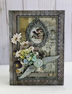Hello there, everyone! Here's part two of my Tim Holtz Creativation 2017 projects. Thank you for all your comments and visits here in the ...