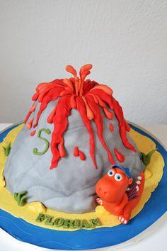 Kleiner Drache Kokosnuss Torte                                                                                                                                                                                 Mehr Dinosaur Party, Birthdays, Sweets, Ferdinand, Cakepops, Baking, Supermodels, Desserts, Babe