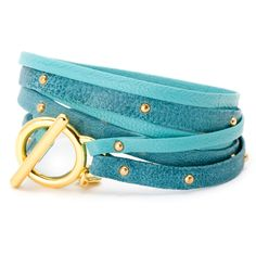 turquoise   gorjana Triple Wrap Bracelet